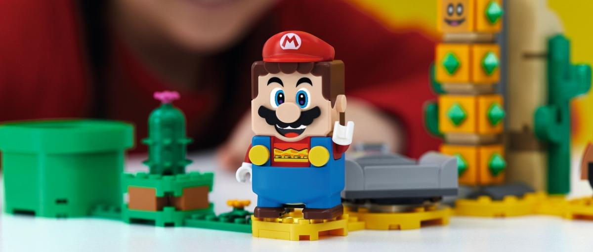Revelado el catálogo completo de Lego Super Mario