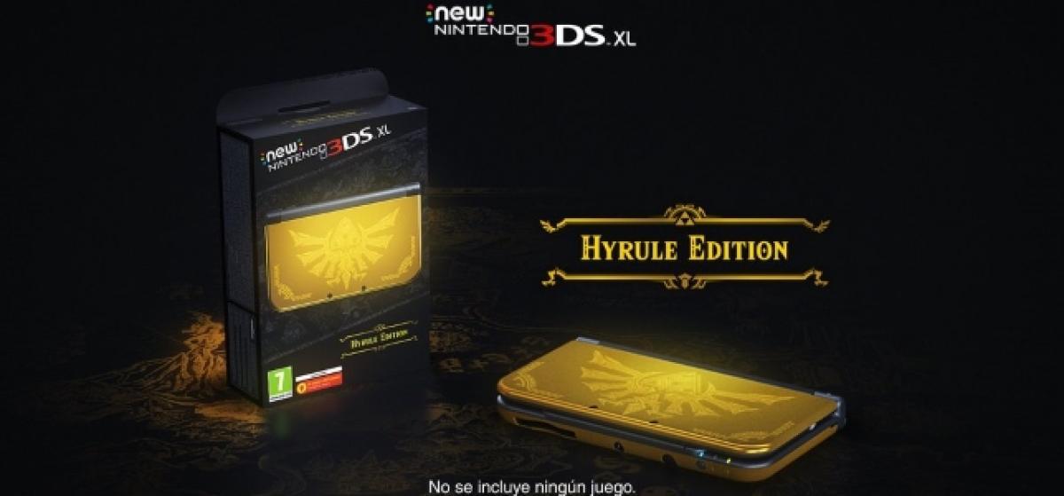 Nintendo anuncia New 3DS Edición Hyrule y muestra un tráiler de amiibo para Twilight Princess HD