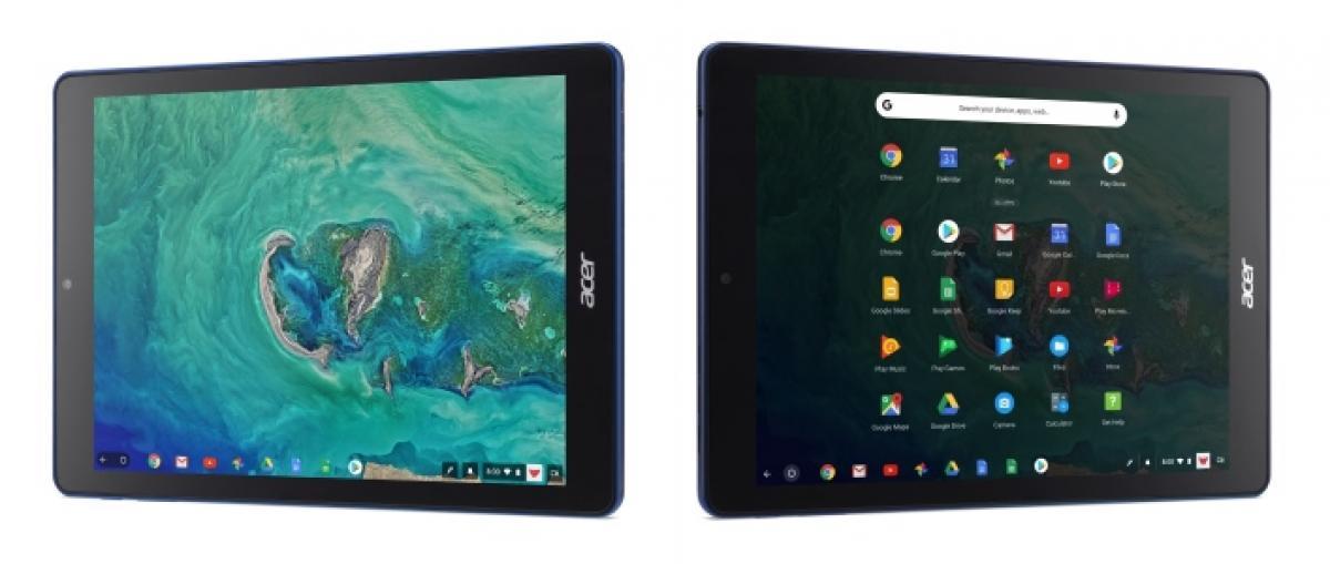 Google y Acer desvelan la primera tableta con Chrome OS