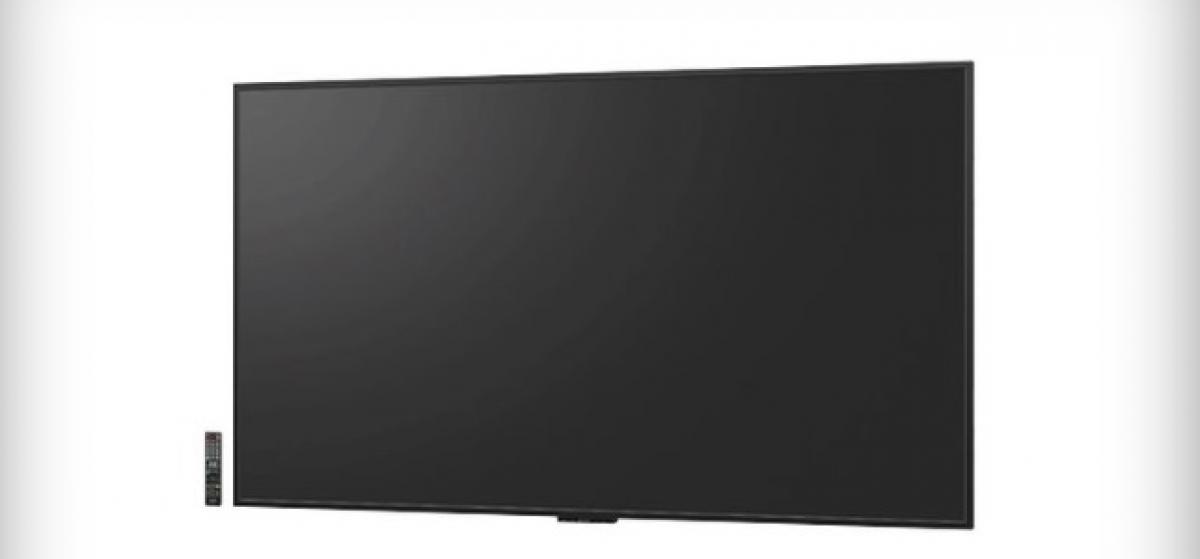Sharp lanzará el próximo mes la primera televisión 8K en el mundo
