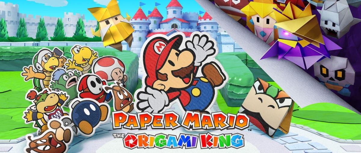 Ya disponible Paper Mario: The Origami King para Nintendo Switch
