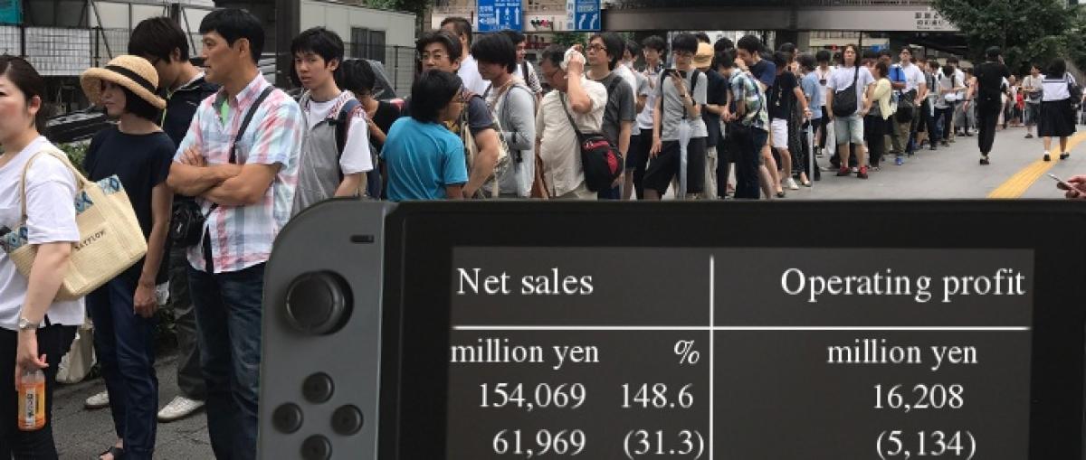 4,7 millones de Switch vendidas contribuyen a un trimestre muy positivo para Nintendo