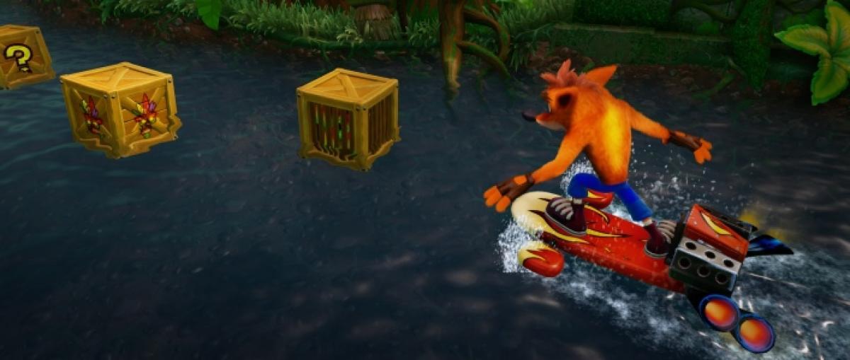 Sonic Mania muestra Green Hill Zone Act 2 y Crash Bandicoot N. Sane Trilogy el nivel Hang Eight
