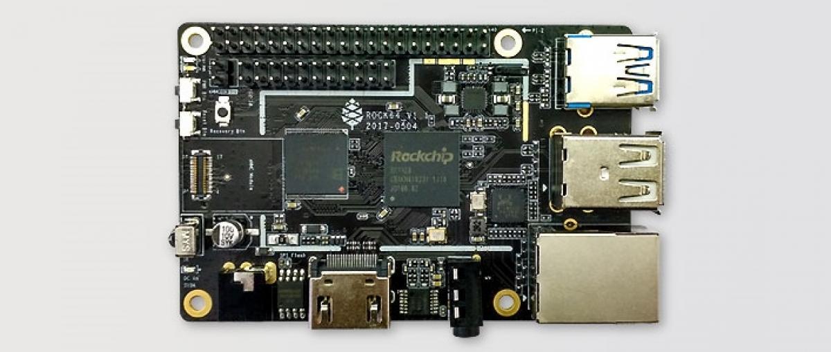 La Rock64 busca competir con la Raspberry Pi ofreciendo hasta 4 GB de RAM y 4K con HDR