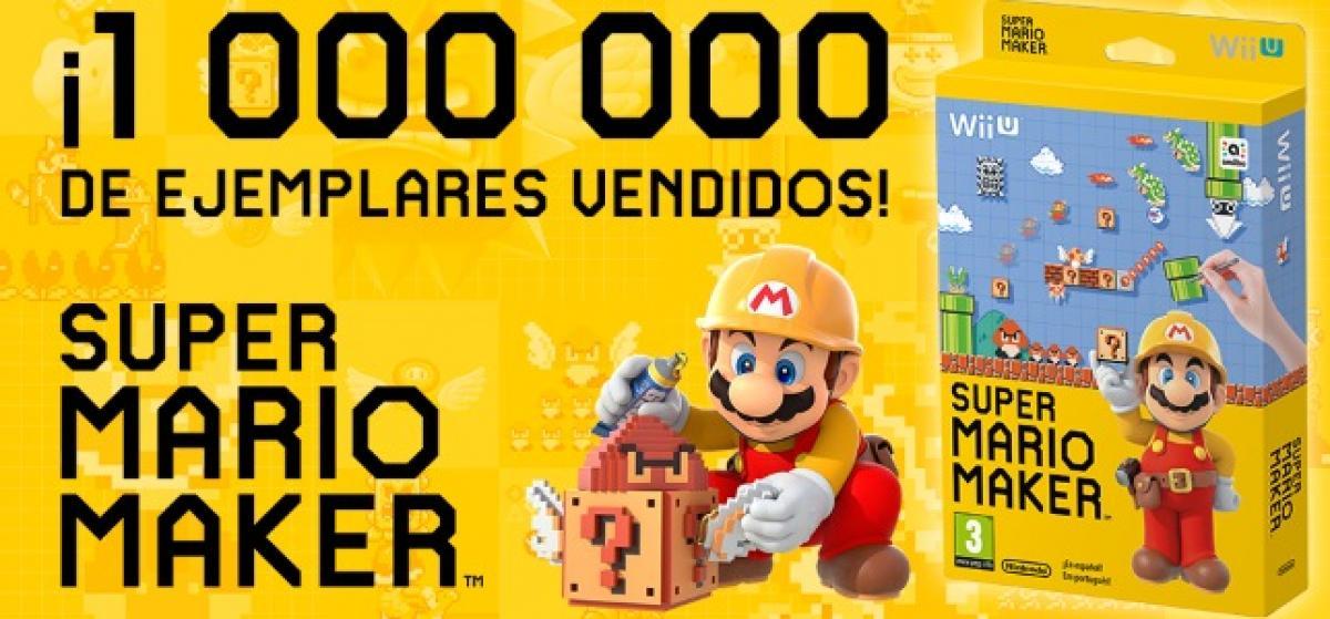 Un millón de Super Mario Maker y nuevo contenido para Super Smash Bros.