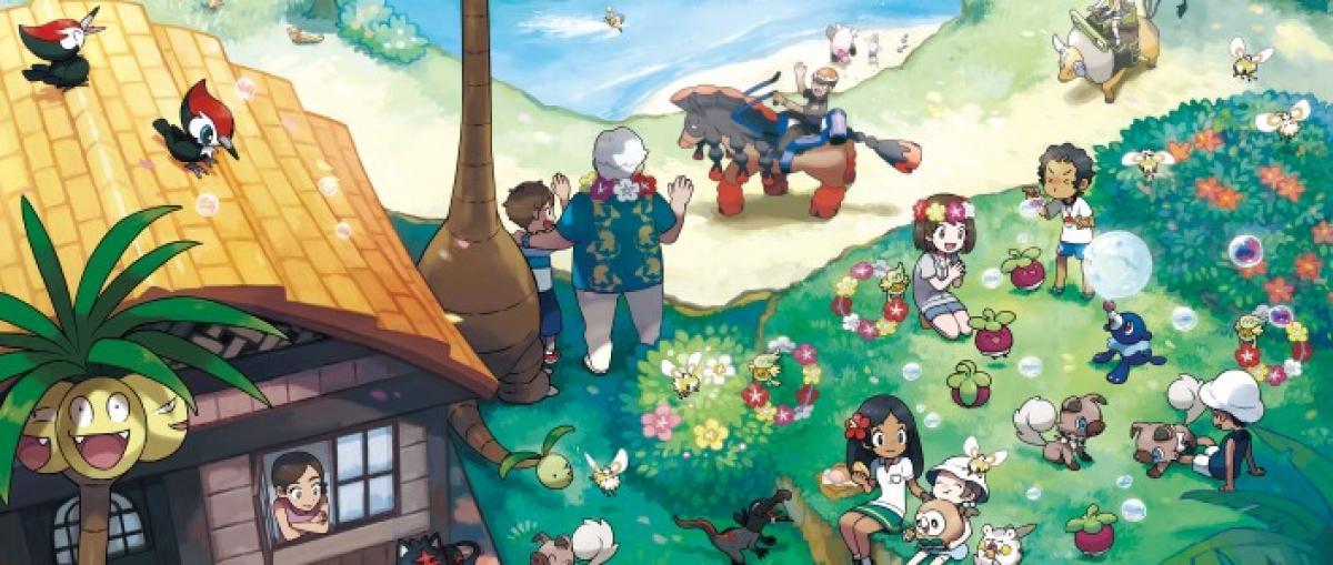 Nuevos detalles de Pokémon Sol y Pokémon Luna: movimientos Z, Alola y nuevos pokémons