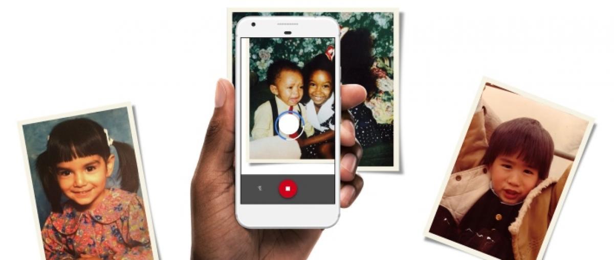 Google lanza PhotoScan, una aplicación para digitalizar fotos antiguas con el móvil