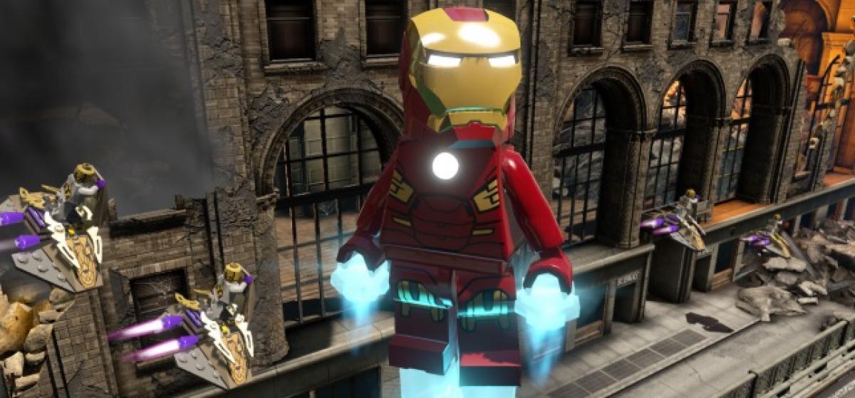 Primer tráiler de LEGO Marvel Vengadores