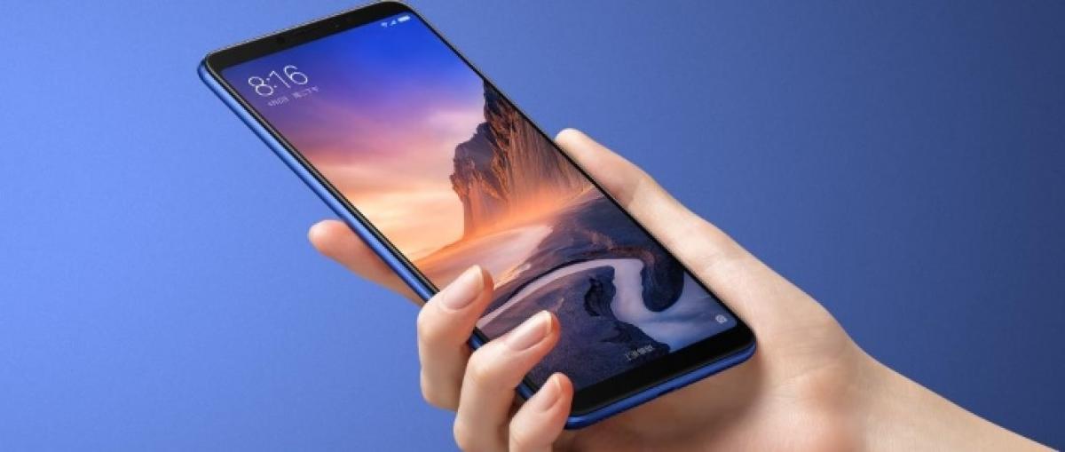 Xiaomi lanza el Mi Max 3, con una gran pantalla de 6,9 pulgadas y batería de 5.500 mAh