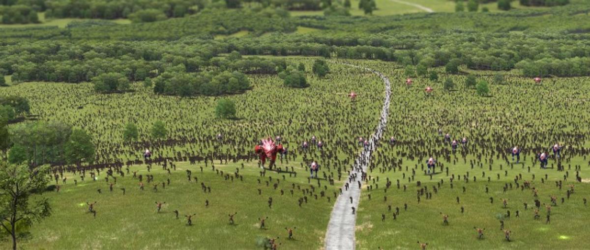 Serious Sam 4: Planet Badass avanza en su objetivo de mostrar 100.000 enemigos en pantalla