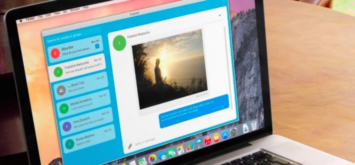 Signal, la aplicación de mensajería preferida de Snowden, llega en versión de escritorio