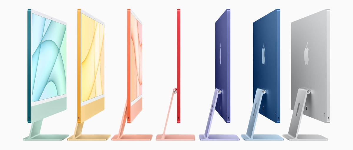 Apple presenta el rediseñado iMac, disponible en múltiples colores y dotado con el chip ARM M1