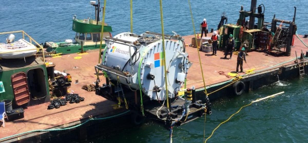 Microsoft experimenta con centros de datos debajo del mar
