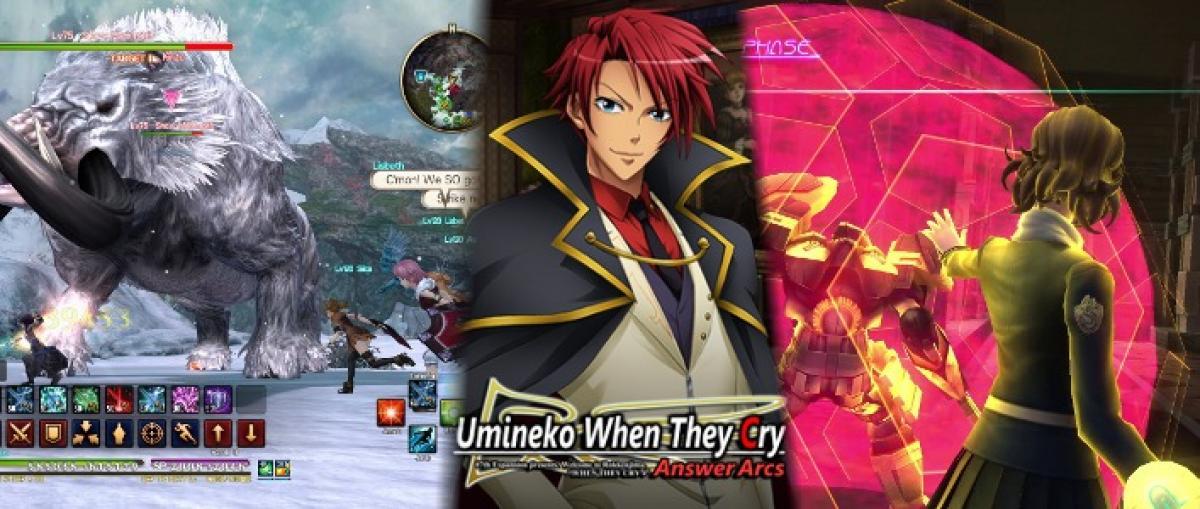 Los juegos japoneses Sword Art Online: HR, Umineko: When They Cry y Lost Dimension llegan a Steam