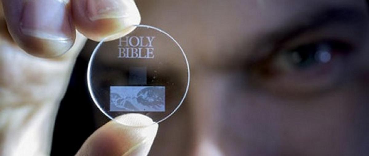 El almacenamiento de datos en 5D puede guardar hasta 360 TB durante millones de años