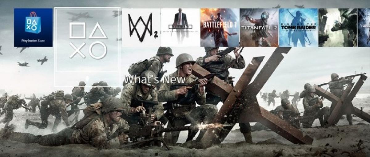 PS4 y Call of Duty: WWII fueron la consola y el juego más vendidos en Estados Unidos durante el 2017