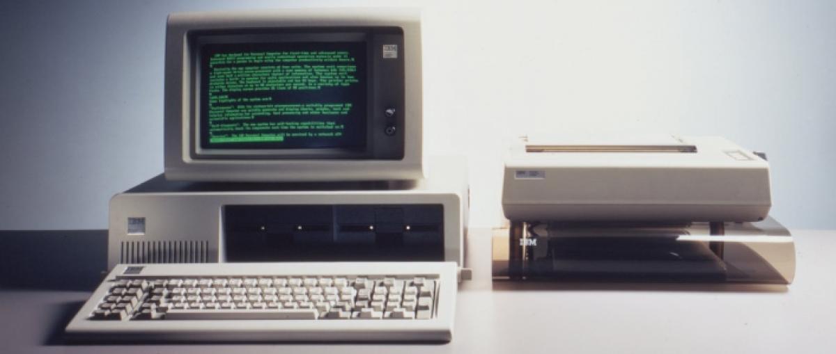 El primer PC de IBM cumple 35 años