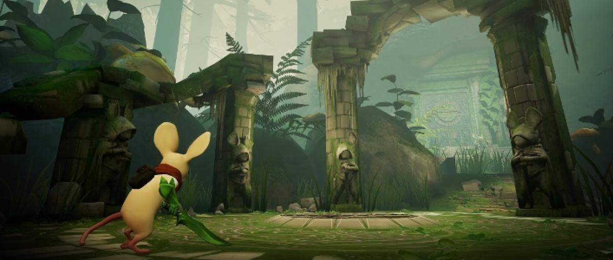 Demostración en vídeo y detalles de Moss, un juego de plataformas y acción para PlayStation VR