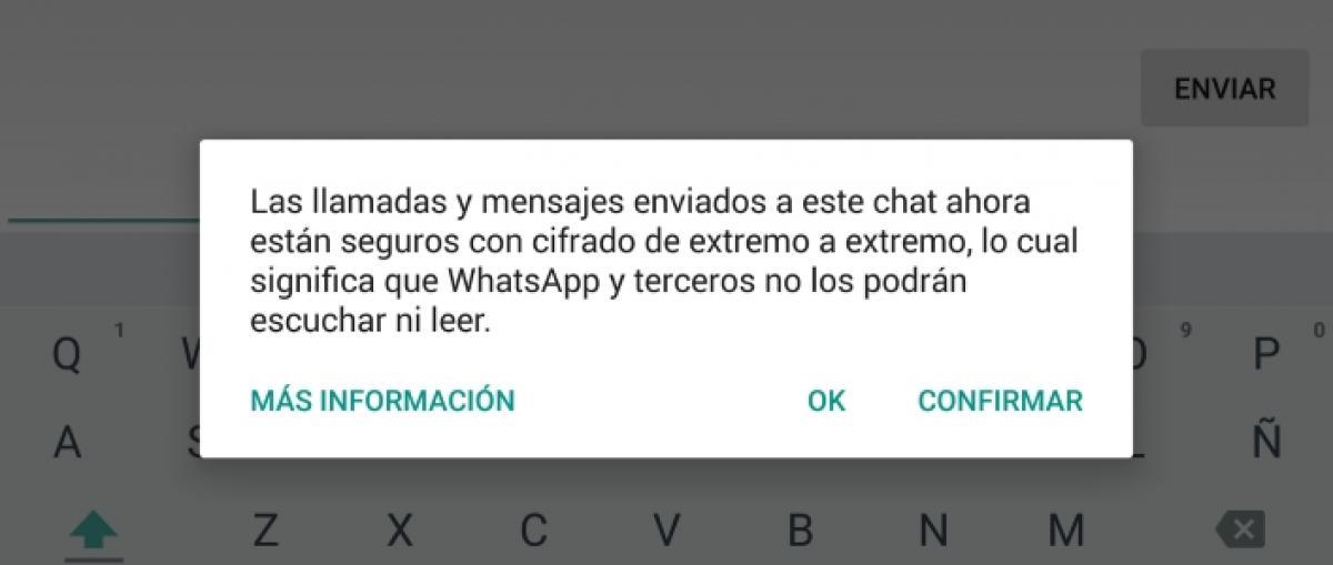 WhatsApp completa la activación del cifrado de extremo a extremo