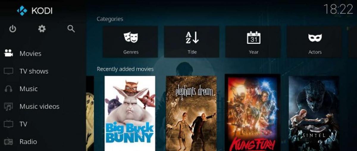 Kodi llega oficialmente a Xbox One