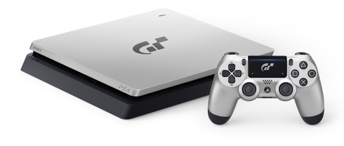 Sony presenta la PS4 slim edición limitada Gran Turismo Sport