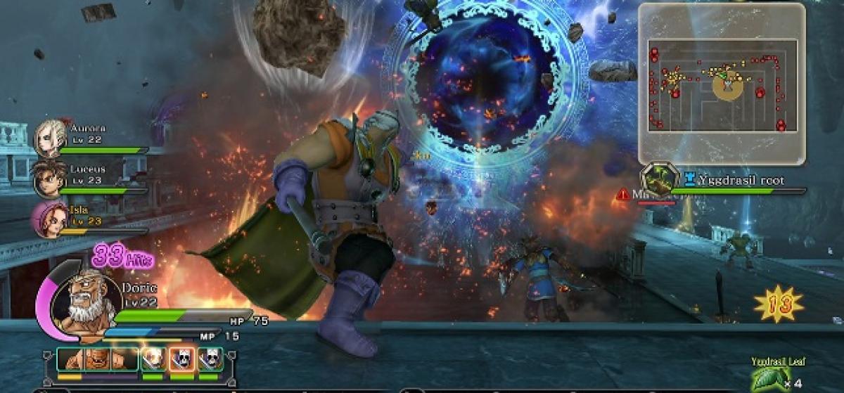Un nuevo vídeo de Dragon Quest Heroes detalla sus personajes y mecánicas