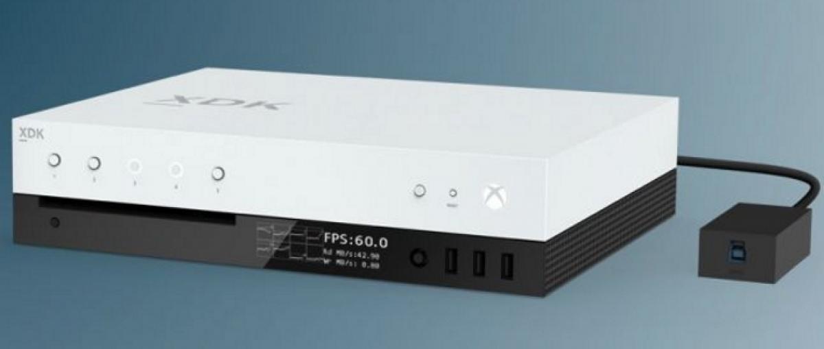 Microsoft muestra el kit de desarrollo de Project Scorpio