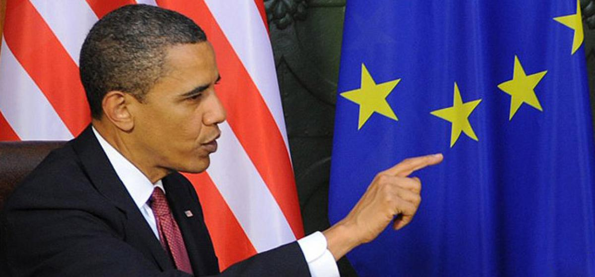 Europa acuerda un principio de pacto de transferencia de datos con Estados Unidos