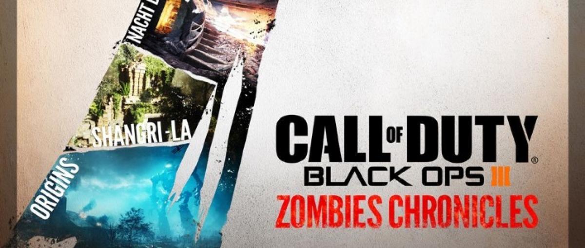 Zombies Chronicles no formará parte del pase de temporada de Black Ops III y costará 29,99 euros