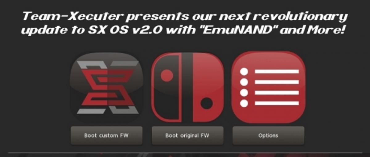 Team Xecuter añade un EmuNAND al SX OS para Nintendo Switch
