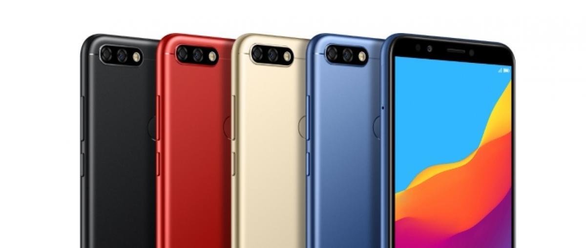 Huawei lanza el económico Honor 7C, ultrapanorámico y con doble cámara trasera