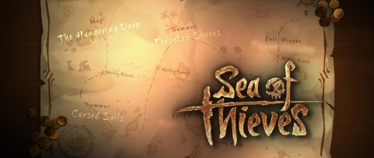 Rare detalla las actualizaciones de contenido para Sea of Thieves que llegarán a partir de mayo
