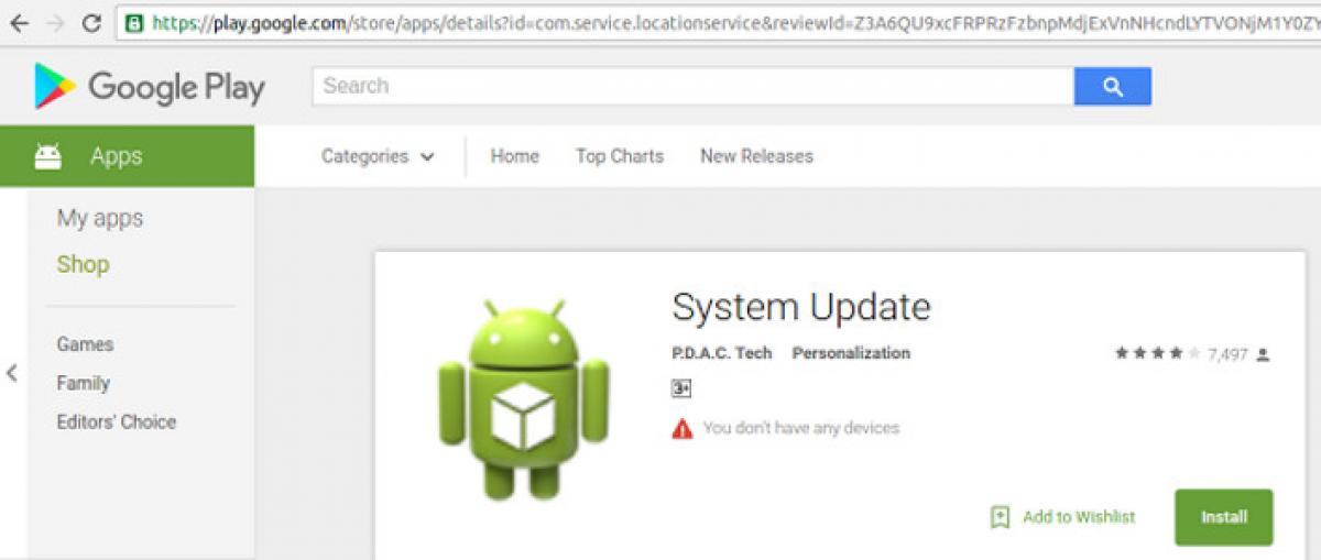 Una aplicación espía permaneció tres años en Google Play sin que nadie la detectara