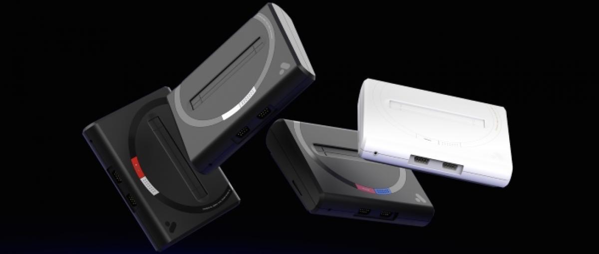 Analogue presenta Mega Sg, una máquina compatible con los cartuchos de Mega Drive y Master System