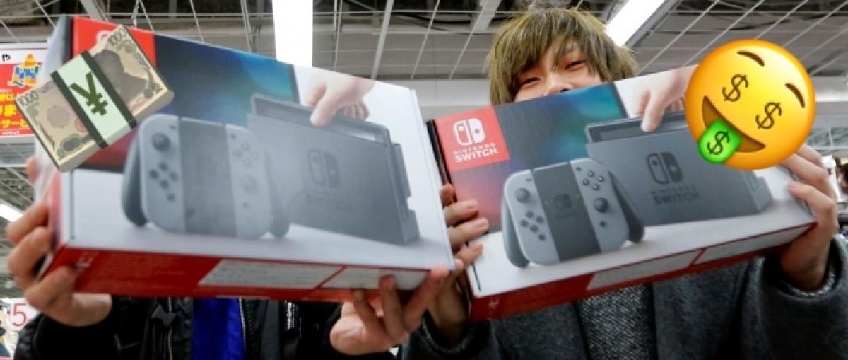 ALUCINA con las Switch que el presidente de Nintendo piensa vender