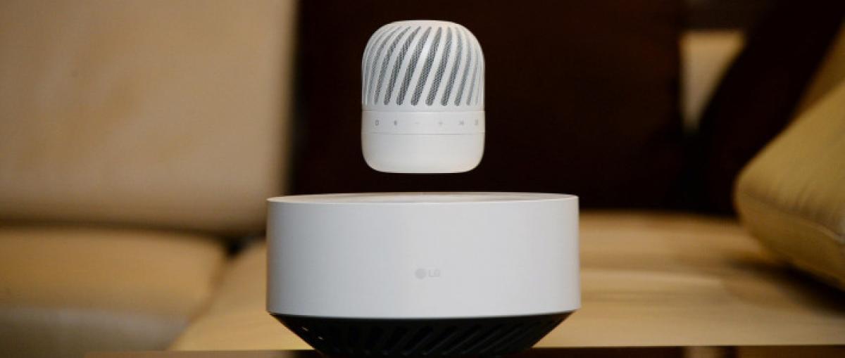 LG anuncia un singular altavoz Bluetooth levitante