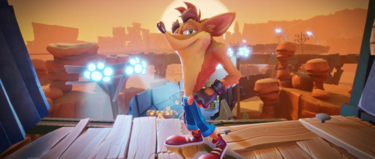 Tráiler de lanzamiento de Crash Bandicoot 4: It's About Time
