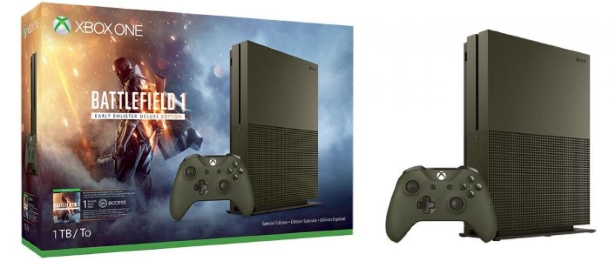 Battlefield 1 protagoniza los nuevos packs de Xbox One S