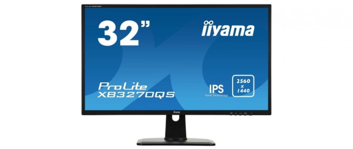 Iiyama lanza un monitor WQHD de 31,5 pulgadas y corte básico por 280 euros