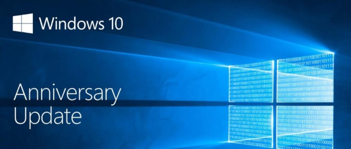 La actualización Anniversary para Windows 10 estará disponible el 2 de agosto