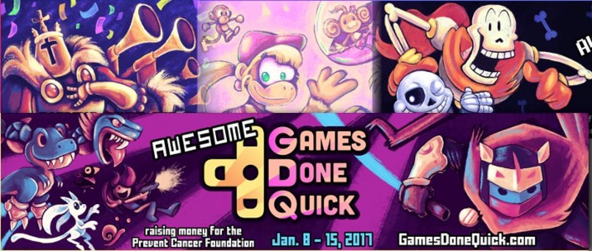 En marcha el maratón Awesome Games Done Quick, que durará toda la semana