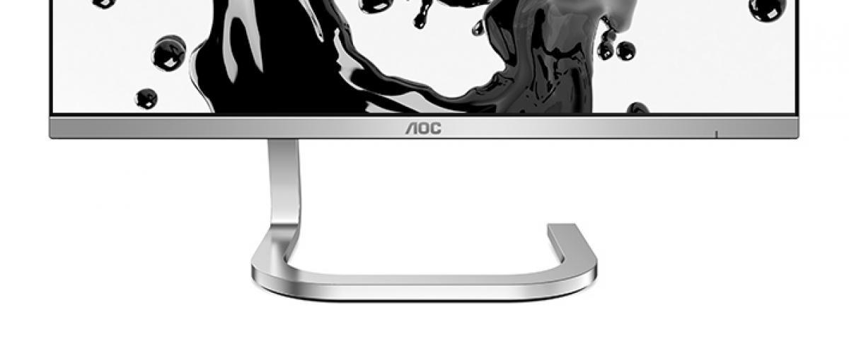 AOC aboga por el estilo con sus nuevos monitores diseñados por F.A. Porsche