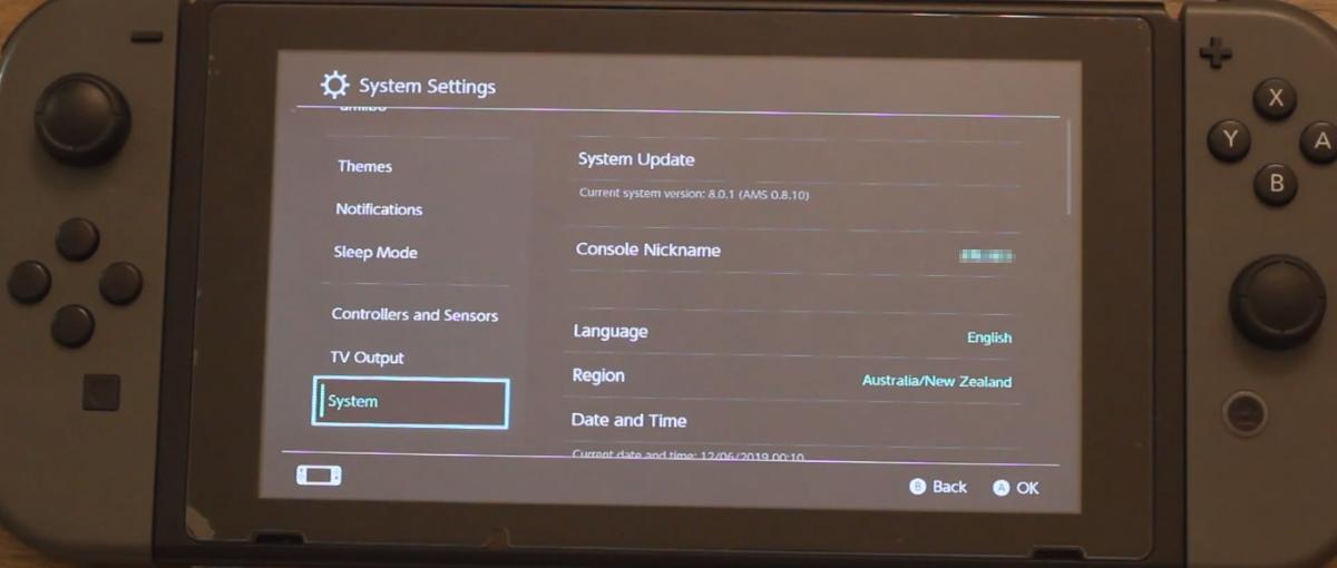 El custom firmware Atmosphère de Nintendo Switch recibe soporte para emuMMC