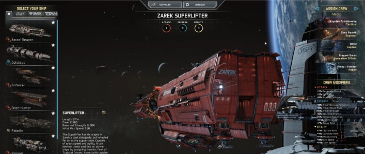 Lanzamiento de Fractured Space, un MOBA espacial para Windows