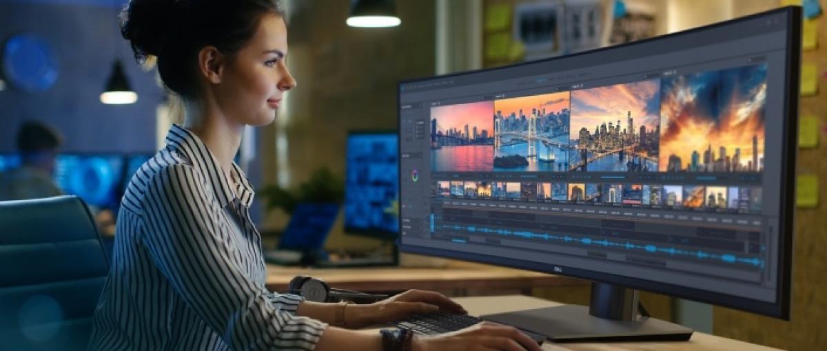 Dell presenta el primer monitor ultrapanorámico curvo de 49 pulgadas y resolución QHD