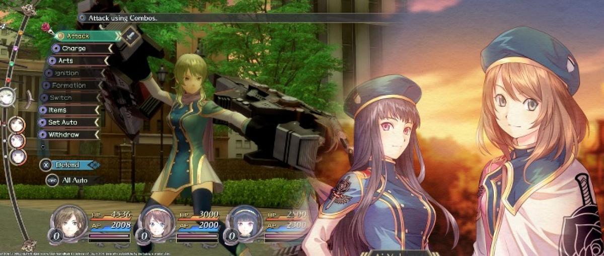 El juego de rol japonés Dark Rose Valkyrie llegará a Steam para Windows el 10 de abril