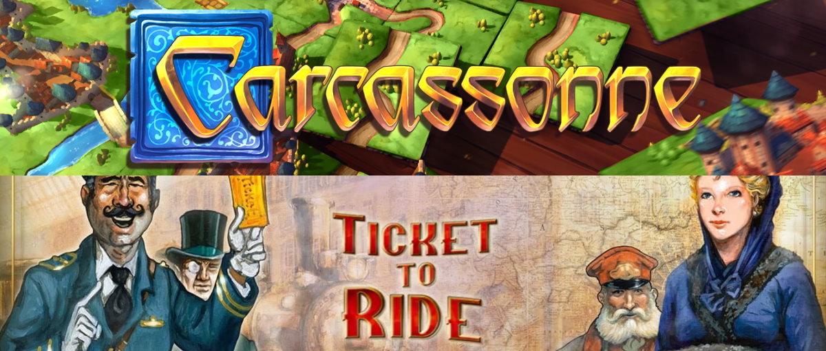 Juegos gratis en la Epic Games: Ticket to Ride y Carcassonne