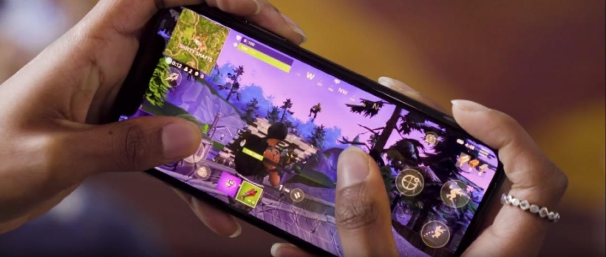 Fortnite Battle Royale se muestra por primera vez en móviles