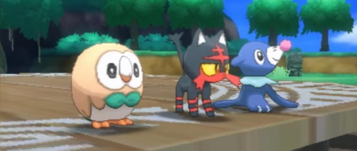 Desvelados los pokémon iniciales de Pokémon Sol y Pokémon Luna