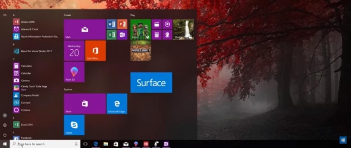 Ya disponible la actualización Fall Creators Update para Windows 10
